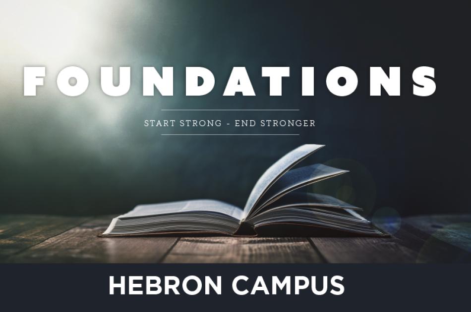 Foundations (Hebron Campus)