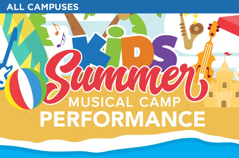 Kids Summer Musical Performance