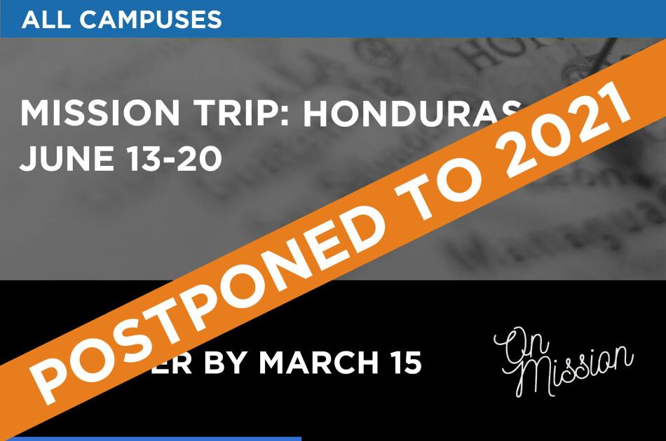 Mission Trip: Honduras