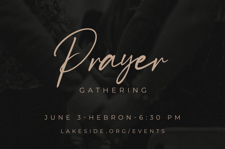 Prayer Gathering at Hebron
